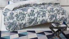 ESPRIT ARAI BLUE HOUSSE DE COUETTE 240 X 220 CM SATIN DE COTON DUVET COVER