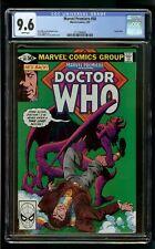 MARVEL PREMIERE DOCTOR WHO #58 (1981) CGC 9.6