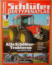 Typenkatalog Schlüter-Traktoren TRAKTOR CLASSIC SPECIAL Typen Modelle Preise