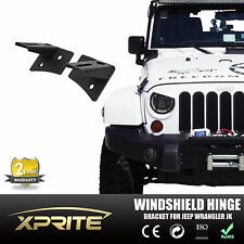 2007-2015 Jeep Wrangler JK Windshield Hinge Lower Corner Bracket For Work Light