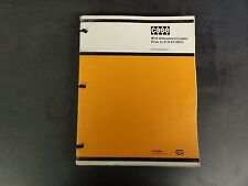 Case W14 Articulated Loader Prior to S/N 9119672 Parts Catalog  E1211