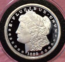1889 Morgan Dollar Proof Copy 1 Troy Oz .999 Fine Silver Round Collectible Coin