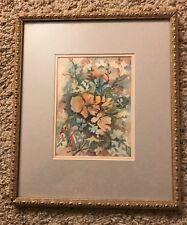 "NICE Watercolor painting By TUNI TRIPATHY 5""x7""image"