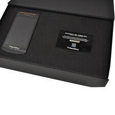 BNIB Blackberry Porsche Design P'9982 RGE111LW 64GB Cognac Factory Unlocked 4G