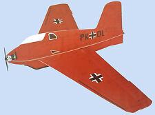 ME-163 Komet (KraftEi) legendäre Messerschmitt ME 163 90cm Spannweite Baukasten