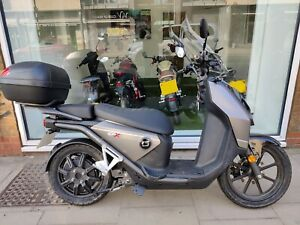 Super Soco CPx Electric Scooter Learner legal eMoped 125cc Moped 36 MILES ONLY!