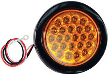 "Buyers New 4"" Round Amber Strobe Light, Recessed - SL40AR"