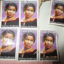 12 Marion Anderson 37 Cent Used 2005 Black History Postage Stamps