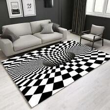 Bodentürmatte Gedruckte Vortex Illusion Teppich Wohnzimmer Anti-Rutsch-3D-Matte