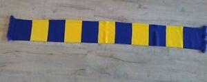 Blue and Yellow Football Bar Scarf Shrewsbury / Wimbledon / Kilmarnock