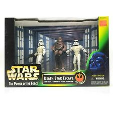 Kenner Star Wars Power Of The Force Play Set Death Star Escape 3 Pack