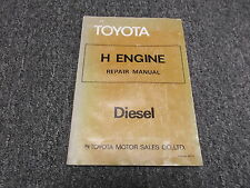 1978 Toyota Land Cruiser HJ45 H Diesel Engine Shop Service Repair Manual 1979