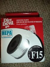 Royal Dirt Devil F15 Hepa Filter Vibe Bagless Quick Vacuum Part 3SS0150001