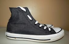 130176F Converse CT OX Hi Black White Mens Size 5 Womens Size 7
