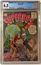SUPERBOY #49 CGC 6.5 1956 Silver Age Key DC Origin & 1st App METALLO