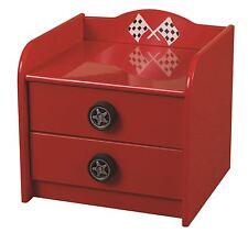Sweet Dreams Formula Car Bedside Table Cabinet Children Bedroom Red