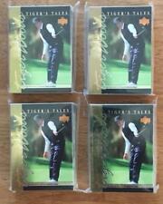 Golf Tiger Woods Upper Deck Tiger's Tales Four 30 Card Sets 120 Cards MINT