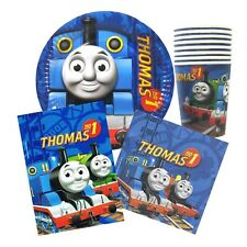 Thomas the Tank Party Supplies for 8 guests 40 pcs Cups Plates Serviette Lootbag