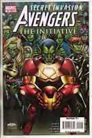 Marvel Comics Avengers The Initiative #15 September 2008 Secret Invasion VF+
