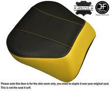 YELLOW & BLACK CUSTOM FITS HARLEY BRAKEOUT 13-16 SUNDOWNER REAR SEAT COVER