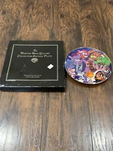 Michael Jordan Space Jam Warner Brothers Gallery Collector's Plate Limited Ed.