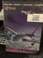 More details for airbus a380-800 magic of flight thai airways dvd bangkok hong kong bangkok rare