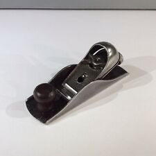 VINTAGE STANLEY No 220 ADJUSTABLE CUTTER BLOCK PLANE 7 INCH.