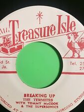 TREASURE ISLE RECORDS BREAKING UP / SOUL FOR SALE THE TERMITES. TOMMY MCCOOK AND