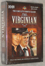 The Virginian - Complete Season Series Four 4 - DVD Box Set BRAND NEW & SEALED