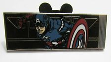 Disney 100462 Avengers Monorail Mystery Captain America Error Pin