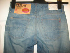 Replay Cotton Low Rise L34 Jeans for Women