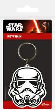 Star Wars (Storm Trooper) Rubber Keychain Keyring - FAST UK DISPATCH