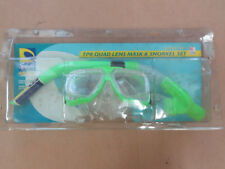 Splash Club Aqautic Tpr Quad Lens Mask & Snorkel Set