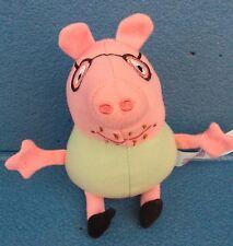 PEPPA PIG - PAPA' PIG - PELUCHE - cm.15