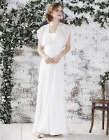 Monsoon Savanna Bridal Ivory Wedding Dress Size 16 Brand New with Tags RRP £399