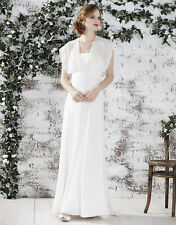 Monsoon Savanna Bridal Ivory Wedding Dress Size 16 Brand New with Tags RRP £399