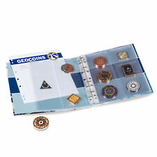 Album for GeoCoins Collection Geocaching Travel Bugs Tracking LIGHTHOUSE 358044