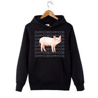 Shane Dawson Oh My God Pig Hoodie Funny Pig Sweatshirt Hooded Pullover hoo Black