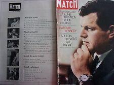 PARIS MATCH N° 1056 -aout 1969 - L'AFFAIRE KENNEDY - PAPILLON au bagne