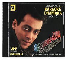 Aniruddh's Karaoke Dhamaka Vol 2 Bollywood The Milenium Countdown Hindi Music