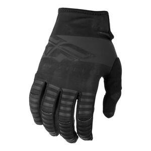 FLY 2019 Kinetic Adult MTB Mountain Bike/Downhill Cycling Black Race Gloves