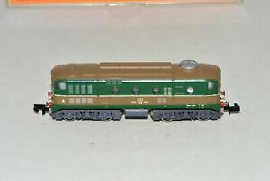 N Scale Arnold Green & Brown BO'BO' D 341 Diesel Locomotive