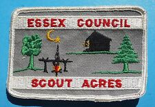 SCOUT ACRES  ESSEX & ROBERT TREAT COUNCILS  CAMP CONKLIN   BOONTON NJ - c3710