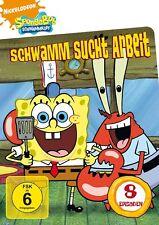 SPONGEBOB SCHWAMMKOPF: V1 SCHWAMM SUCHT ARBEIT   DVD NEU