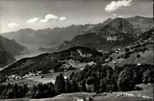 Hasliberg Kanton Bern AK ~1950/60 Blick gegen Brienzersee und Brienzer Rothorn