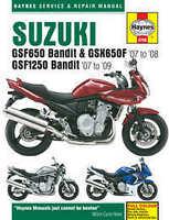 Suzuki GSX 650F Haynes Manual Repair Manual Workshop Manual 2008-2008