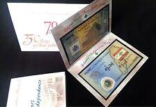 >> REPLACEMENT TWO BILLS << 1 COMMEMORATIVE FOLDER Lebanon 50000 LL 2014 & 2013