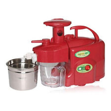 NEW GREEN POWER KEMPO KP-E1304 Grade-Type Twin Gear Juicer-RED(Free Express)