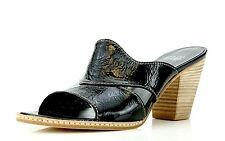 "Stuart Weitzman Womens Sandals"" Joint"" Noir NAPLACK Size 8 B"