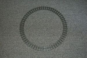 16 Lego 9V train chemin de fer voie ferrée 4520 rails courbés en rond